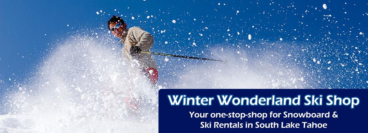 Winter Wonderland Ski Shop