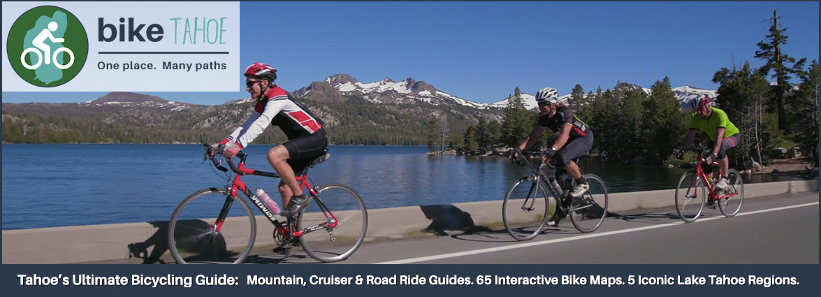 South Tahoe Loop Road Ride Bike Tahoe Lake Tahoe