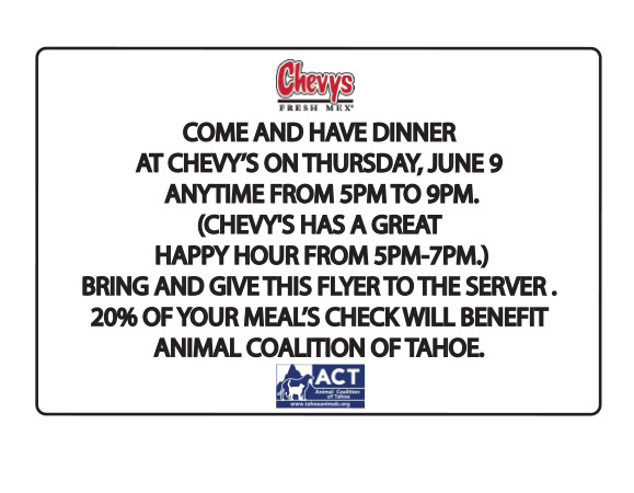 Chevys discount coupon