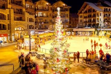 tree lighting ceremony northstar california resort lake tahoe