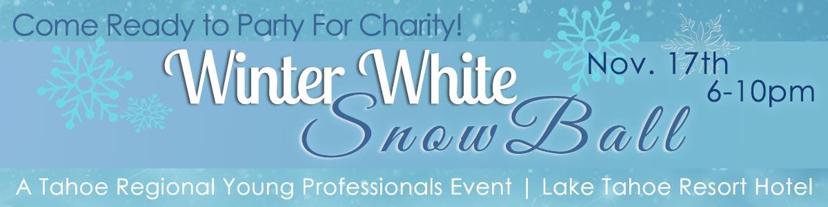 Winter White Snowball