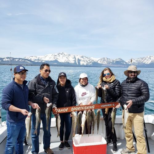 Tahoe Sport Fishing, Fishing Report - May 4