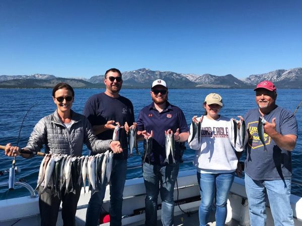 Tahoe Sport Fishing, Fishing Report - August 12