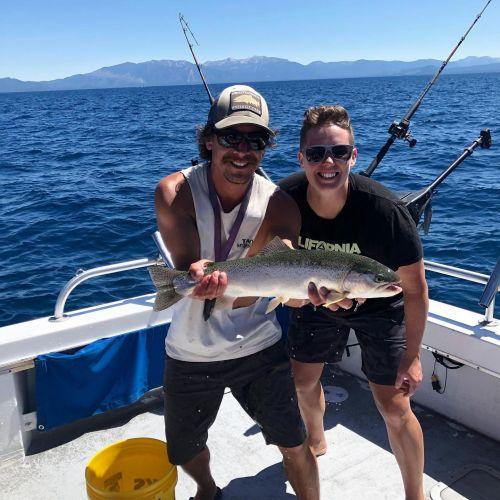 Tahoe Sport Fishing, Fishing Report - August 25
