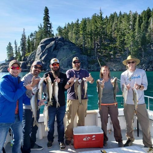 Tahoe Sport Fishing, Fishing Report - August 23