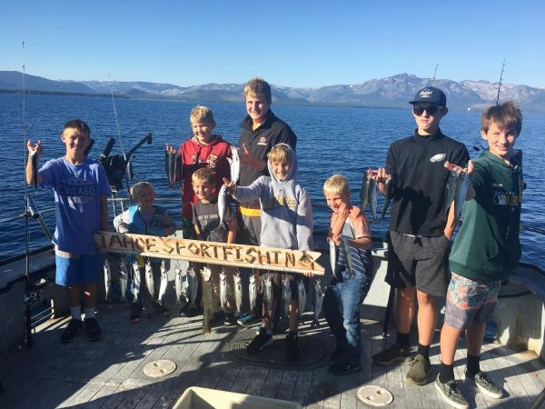 Tahoe Sport Fishing, Fishing Report - August 27