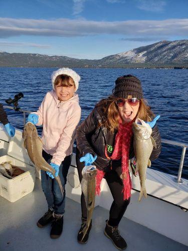 Tahoe Sport Fishing, Fishing Report - February 1