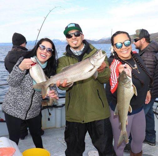 Tahoe Sport Fishing, Fishing Report - February 2