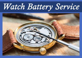 Bluestone Jewelry, Free Watch Battery Service