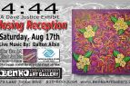 "Benko Art Gallery, Dave Justice ""4:44"" Closing Reception & Bike Tire Art Auction"