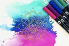 Tahoe Modern Makers, Coffee + Craft - Watercolor Mandalas