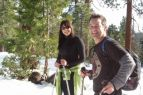 Tahoe Adventure Company, Sunset Snowshoe!