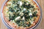 Whitecaps Pizza & Tap House, Kale Artichoke Pizza