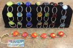 The Robin's Nest, Dichroic glass bracelets