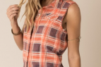 What a Girl Wants, Sleeveless Flannel