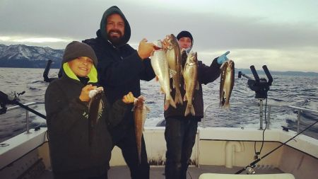 Tahoe Sport Fishing, Fishing Report