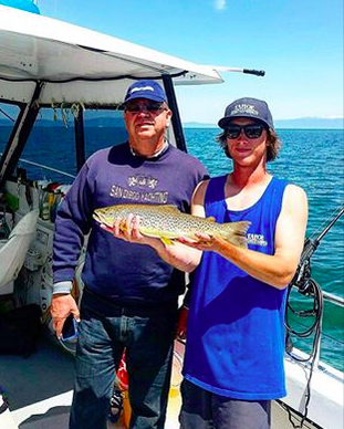 Fishing report may 31 2016 june 3 2016 lake tahoe for Tahoe sport fishing