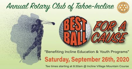 Rotary Club of Tahoe-Incline, Best Ball for a Cause