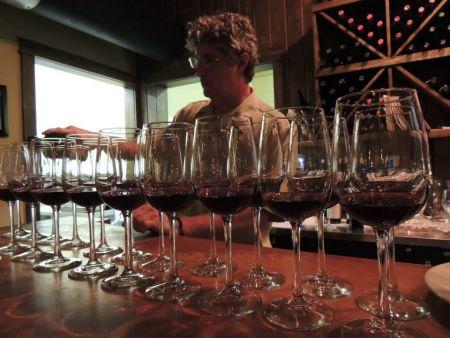 Primo's Italian Bistro, Battle of the Somms Wine Dinner