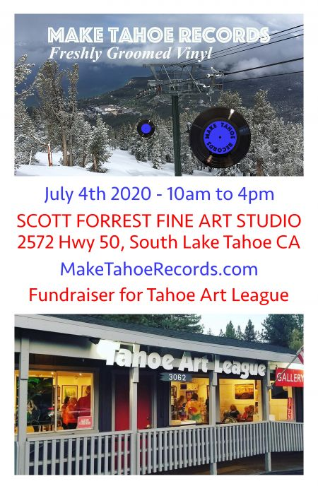 Make Tahoe, Make Tahoe Records Fundraiser for Tahoe Art League
