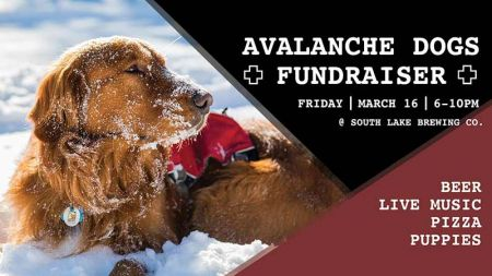 South Lake Brewing Company, Avalanche Dogs Fundraiser