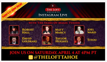 The Loft Theatre, The Stars of Magic Fusion Instagram LIVE Event