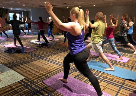 Hyatt Regency Lake Tahoe, Wind Down Wednesday: A free, community yoga event.