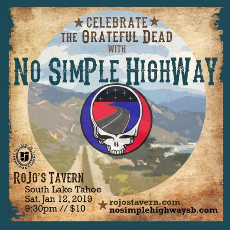 Rojo's Tavern, Celebrate The Grateful Dead with No Simple Highway
