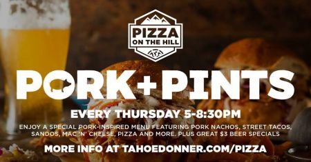 Pizza On the Hill, Pork + Pints at Pizza on the Hill