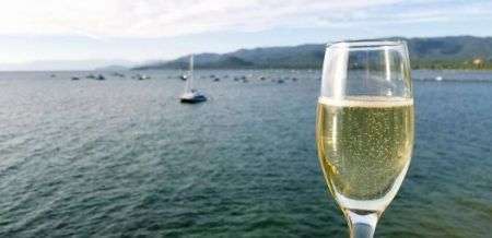 Tahoe Cruises Safari Rose, Sunset Wine Cruise on the Safari Rose