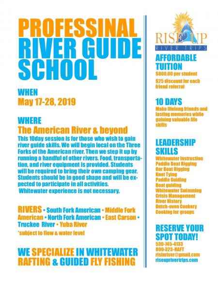 IRIE Rafting, Professional River Guide School