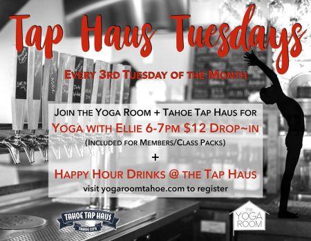 Tahoe Tap Haus, Yoga & Beer