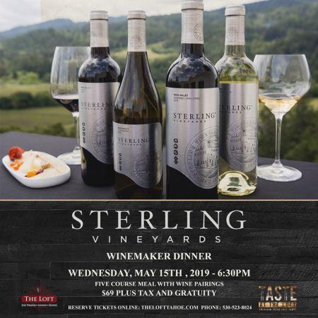The Loft Theatre, Sterling Vineyards Winemaker Dinner