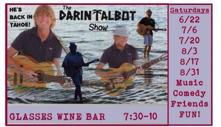 Glasses Wine Bar, Mr. Tahoe is Back!