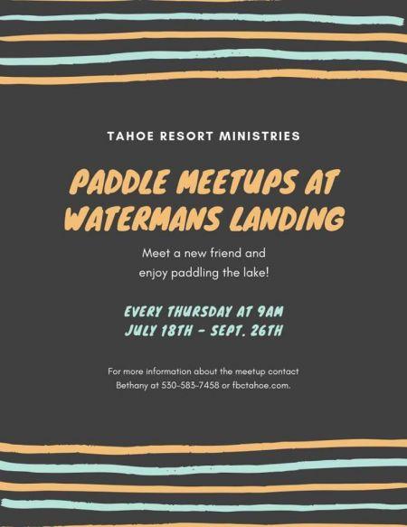 Waterman's Landing, Paddle Meetup