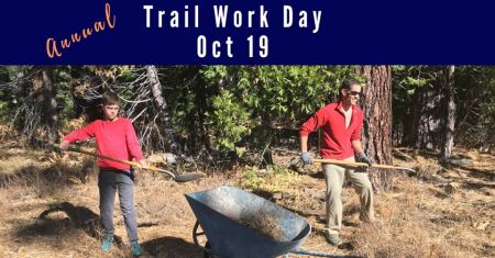 Tahoe Cross Country Center, Annual Trail Work Day