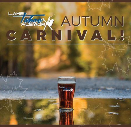 Lake Tahoe AleWorX Taproom, AleWorX Autumn Carnival!