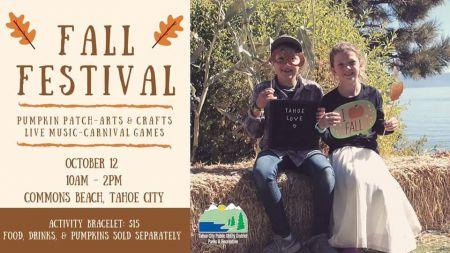 Tahoe City PUD - Parks & Recreation, Fall Festival & Pumpkin Patch