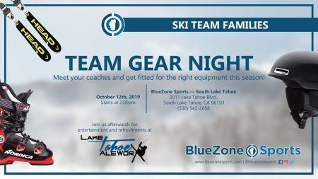 Lake Tahoe AleWorX Taproom, BlueZone Sports - Team Gear Night