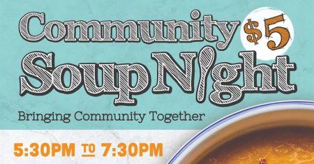 Tahoe Food Hub, Community Soup Night & Bingo at Alibi Truckee