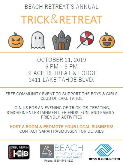 Tahoe Beach Retreat & Lodge, Trick and Retreat