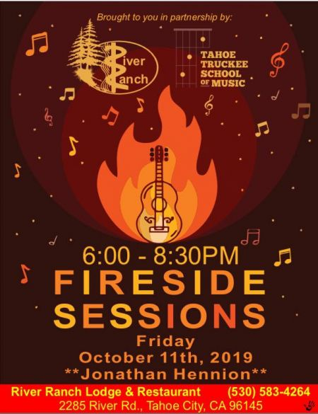 River Ranch Lodge & Restaurant, Fireside Sessions with Richard Blair