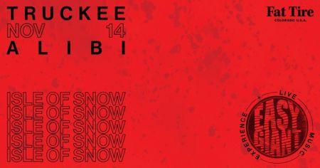 Alibi Ale Works, Absinthe 'IsleOfSnow' premier+EasyGiant Live   Truckee Public House