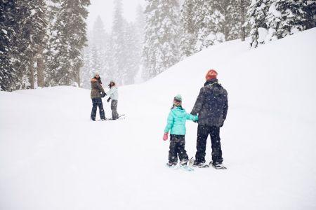 Northstar California Resort, Family Showshoe Tour