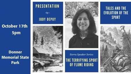 Sierra State Parks Foundation, Sierra Speaker Series: The Terrifying Sport of Flume Riding