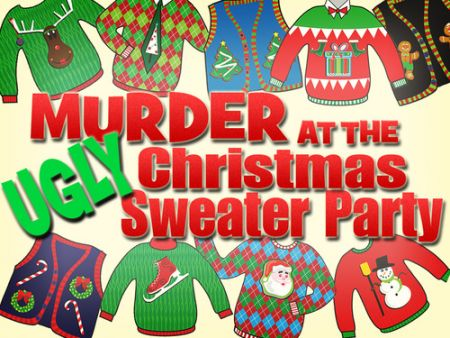 Glasses Wine Bar, Murder at the Ugly Christmas Sweater Party!