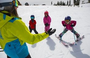 Tahoe Donner Downhill Ski Area, National Learn to Ski or Snowboard Day Celebration