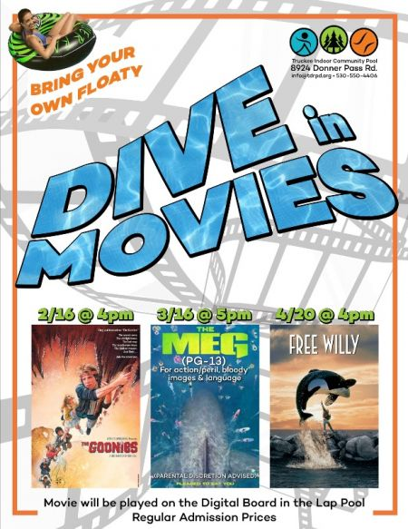 Truckee Donner Recreation & Park District, Dive In Movies