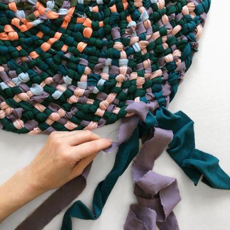 Atelier, Braided Rug Weaving