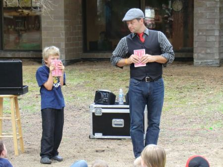 South Lake Tahoe Library, Magician Brian Scott